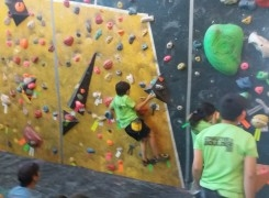 participación Antil Ipinza Master Kids (escalada)